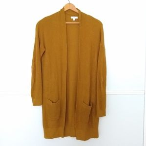 BP mustard cardigan sweater EUC Small